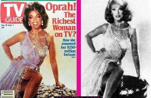 1989 / 1990 r. Magazyn TV Guide pozwolił sobie przeszczepić głowę Oprahy Winfrey do ciała Ann-Margret.