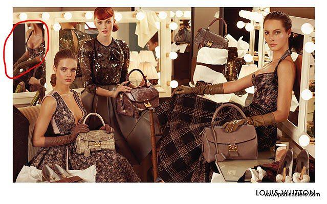 Louis Vuitton i wpadka z lustrem