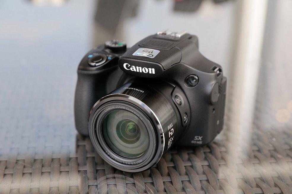 Canon PowerShot SX60 nowa odsłona aparatu kompaktowego typu superzoom.