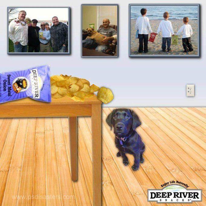 1 Chipsy, które opierają się prawom fizyki - znalezisko z psdisasters.com.