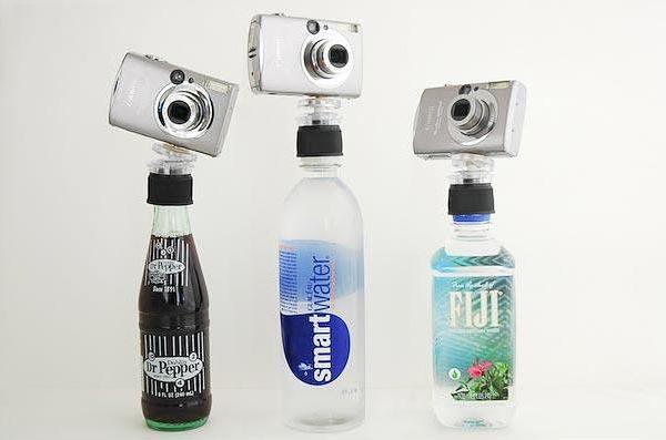 1 Jak zmienić butelkę napoju w statyw? Przy pomocy Bottle Cap Tripod: http://photojojo.com/store/awesomeness/bottle-cap-tripod/