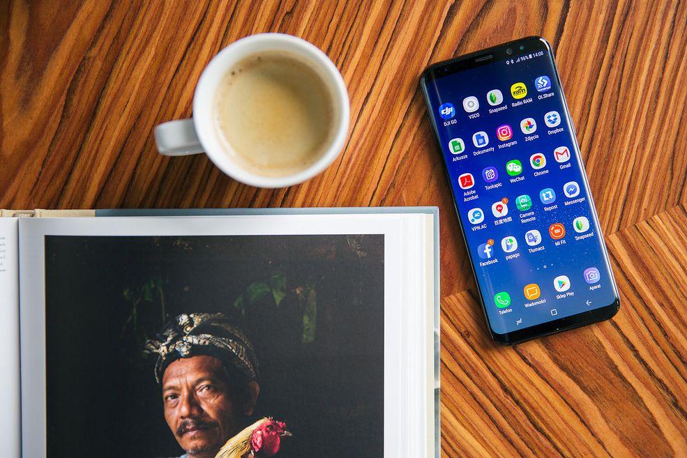 Samsung Galaxy S8 to jeden z popularniejszych fotograficznych smartfonów.
