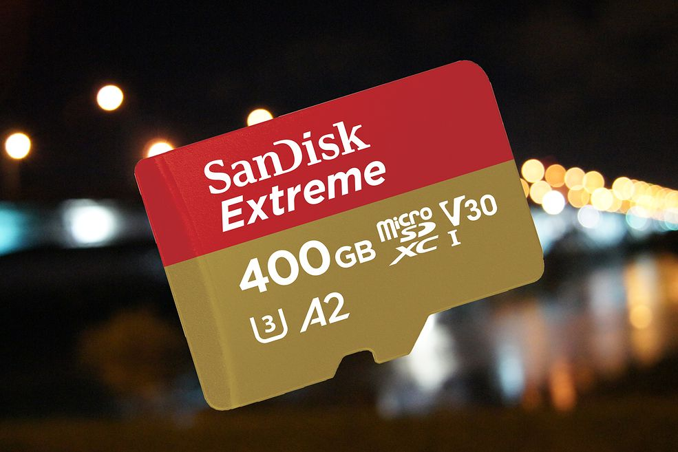 SanDisk Extreme UHS-I microSD 400GB