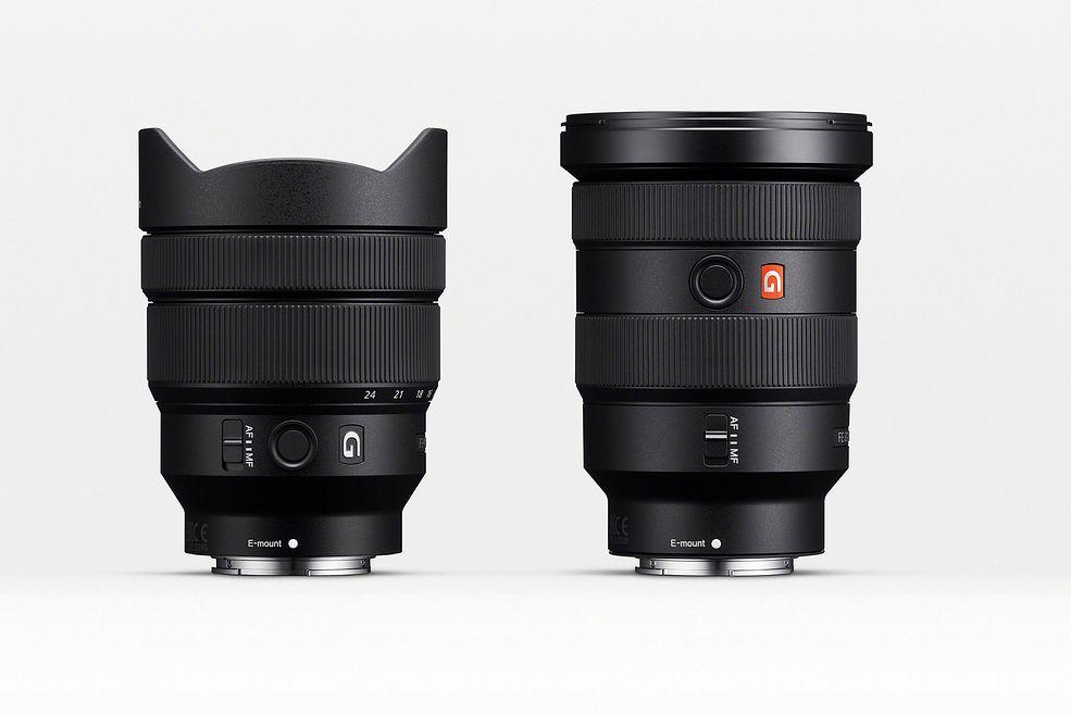 Sony FE 12-24 mm f/4 G / Sony FE 16-35 mm f/2.8 GM