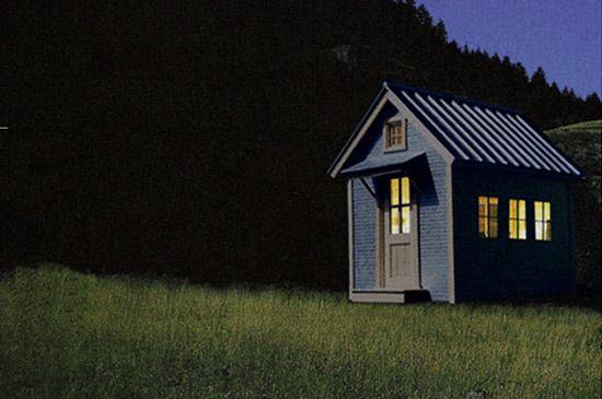 Dom XS w całości mieści sięna przyczepie, a zawiera kuchnię, główny pokój i łazienkę. Wszystko na miejscu i pod ręką, dosłownie.