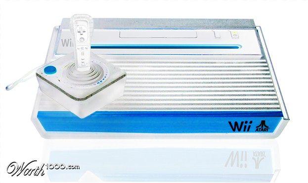 Na koniec jeden z najładniejszych gadżetów w całej galerii. Tak wyglądające Wii kupiłbym bez wahania.