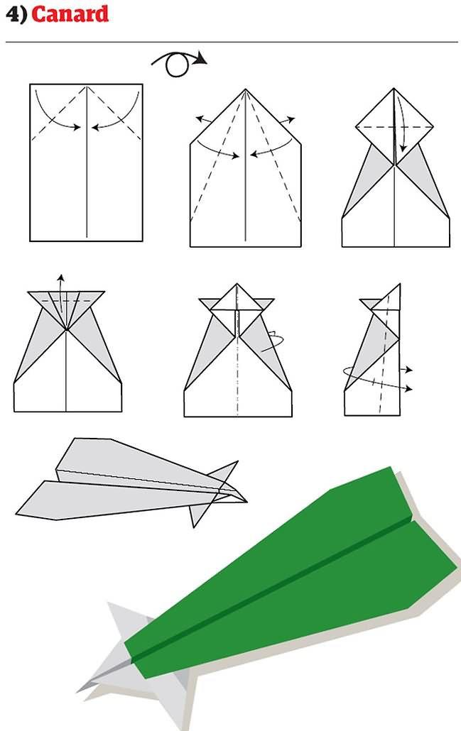 12 najfajniejszych papierowych samolocików