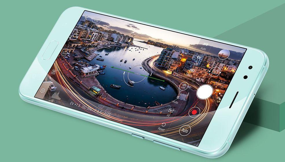 Asus ZneFone 4 - interfejs aparatu