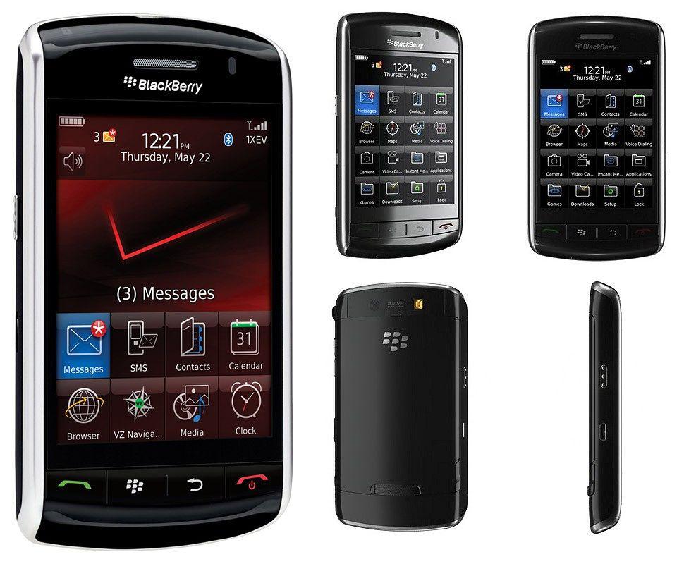 5 nieznanych telefonów BlackBerry