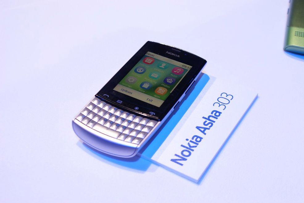 Nokia Asha 303 #6