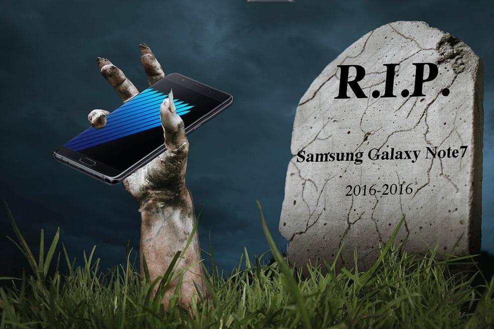 Samsung Galaxy Note7 powstaje z grobu