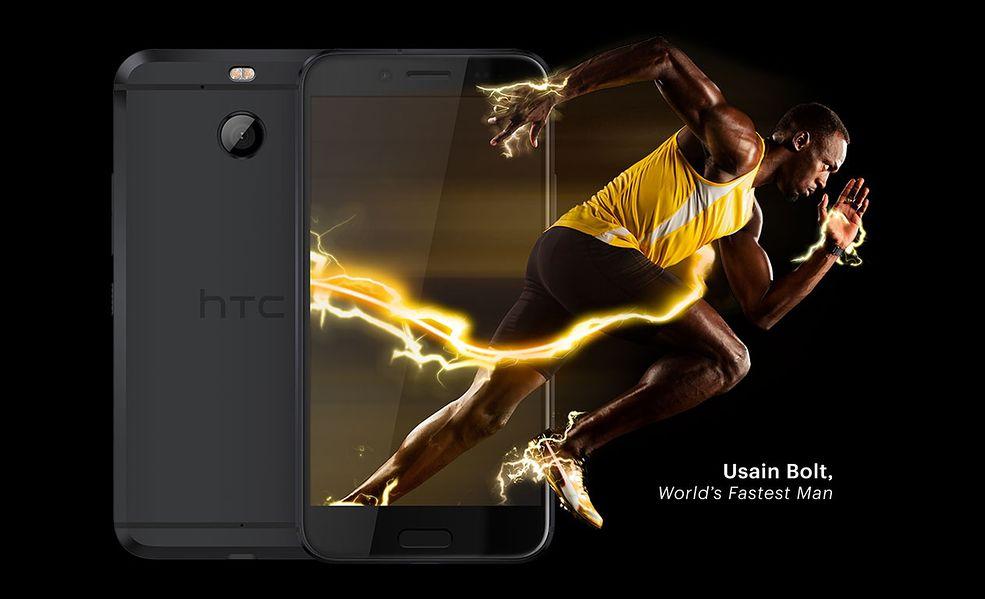 HTC Bolt telefon reklamowany przez Usaina Bolta