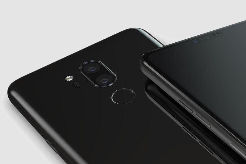Wizualizacja LG G7 ThinQ