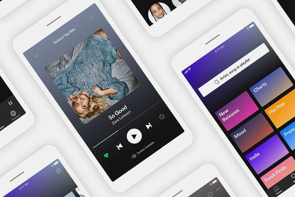 Nowa wersja darmowego Spotify