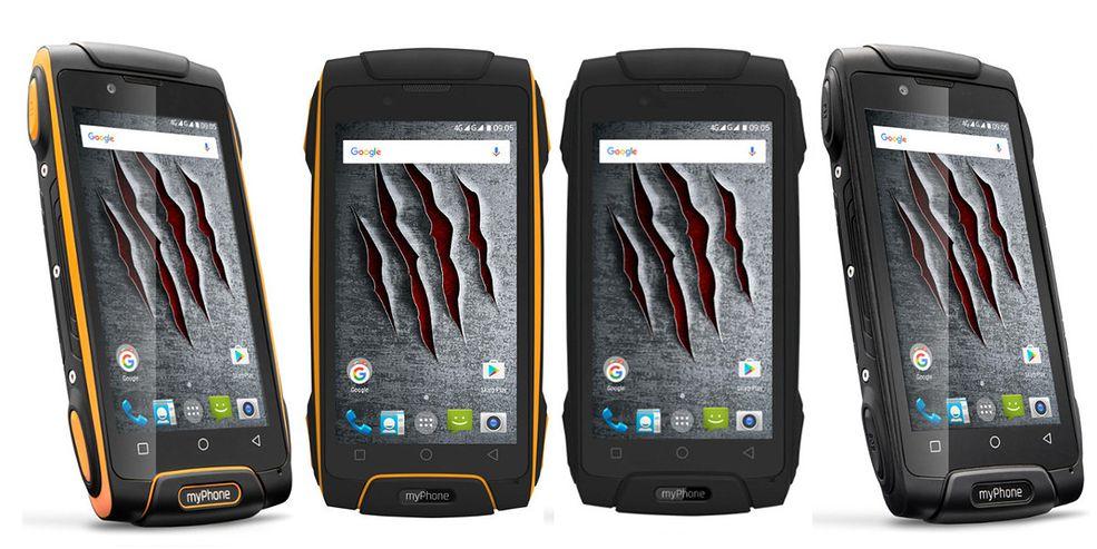 356762264313 myPhone Hammer Axe M LTE - dane techniczne