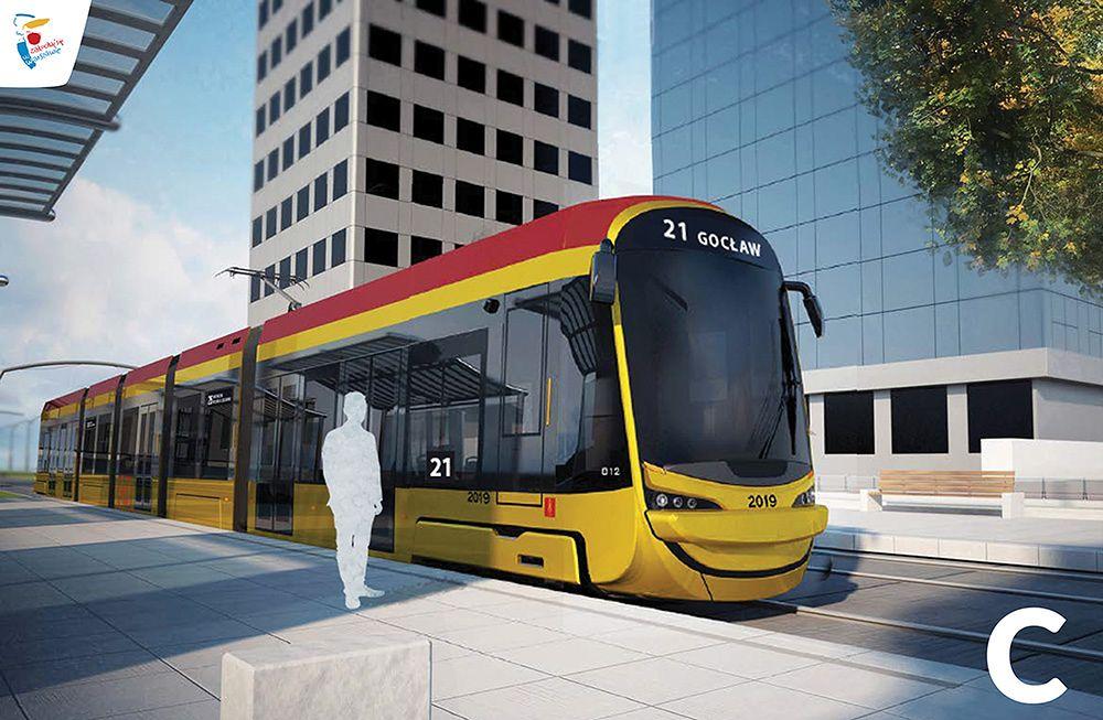 Warszawa. Mieszkańcy wybierają jeden z trzech modeli nowych tramwajów