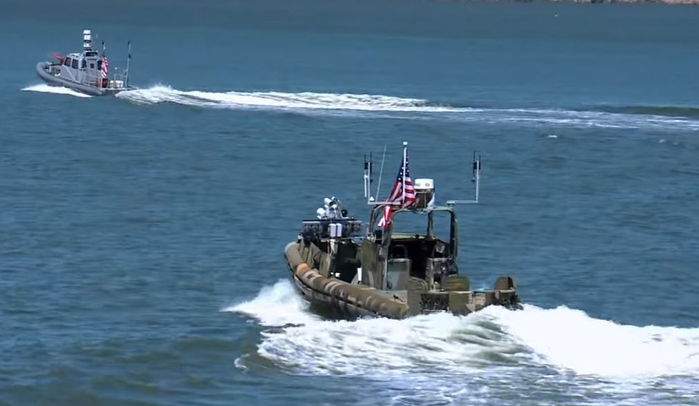 CARACAS - grupa autonomiczne łodzi bojowych amerykańskiej marynarki