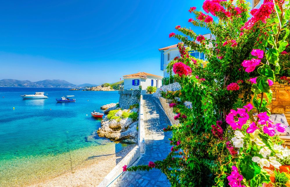 Grecka wyspa Samos, Kokkari Village