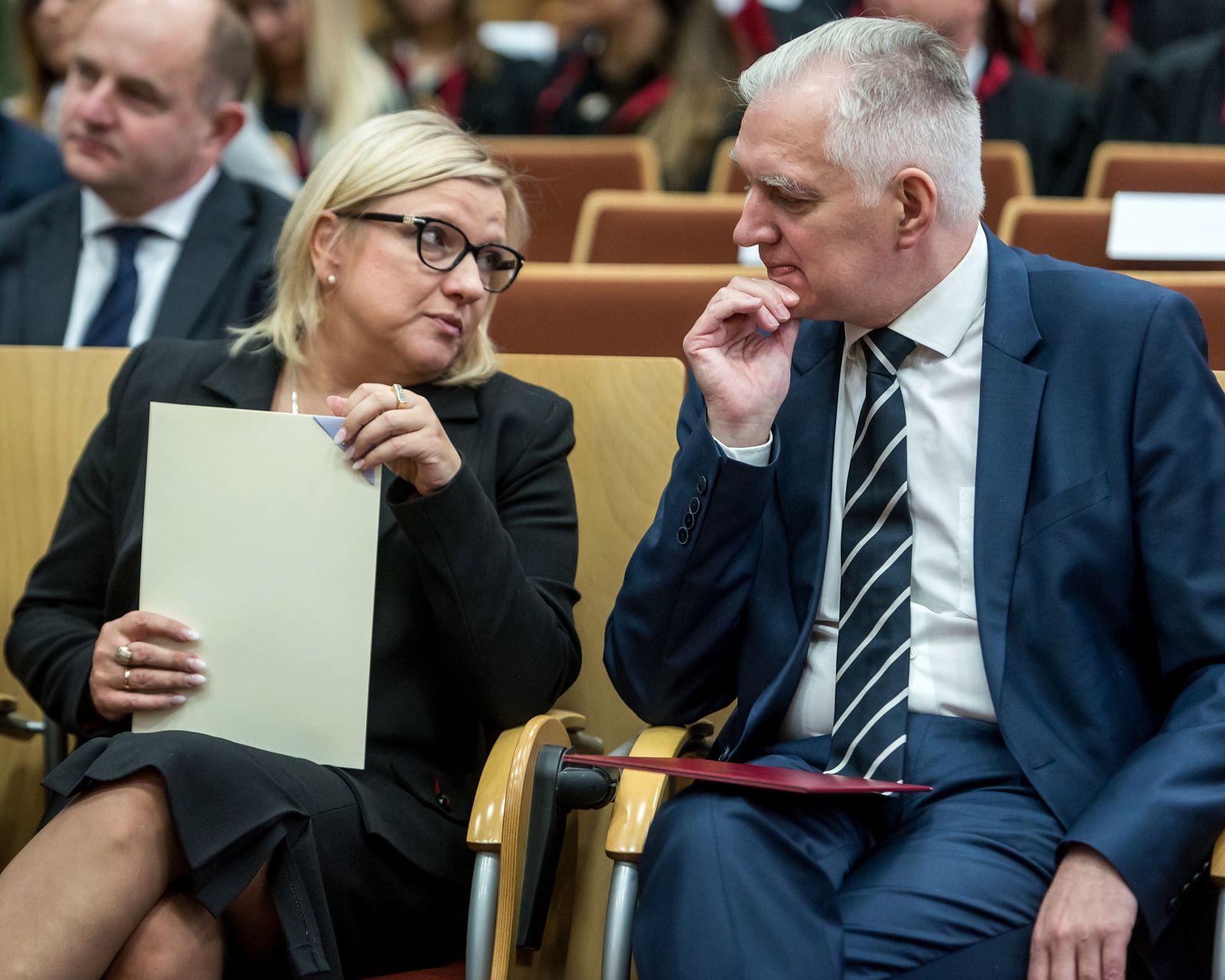 Do Torunia przyjechał Jarosław Gowin i Beata Kempa