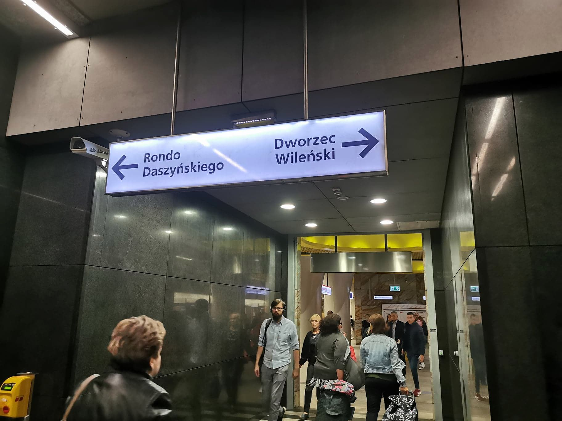 II linia metra kursuje na Targówek.