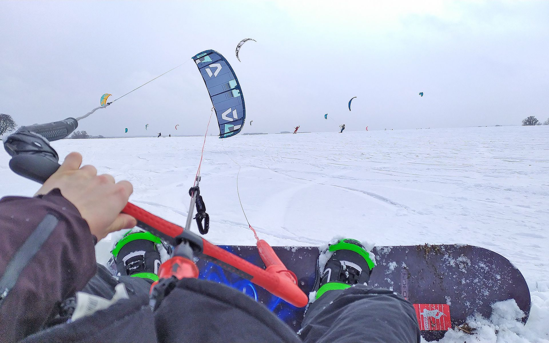 Snowkite to hit tegorocznego sezonu zimowego nie tylko nad morzem!