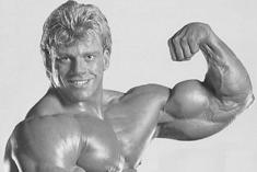 Matt Mendenhall na początku lat 80.