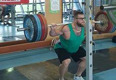 Paweł Fajdek podczas treningu.