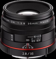 HD Pentax DA 35mm F2.8 Macro Limited