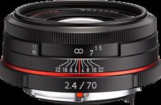 HD Pentax DA 70mm F2.4 AL Limited