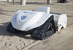 Robot oczyszczający plaże BeBot