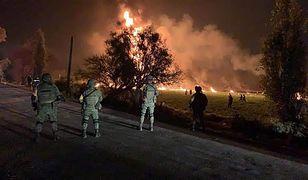 Meksyk: eksplozja rurociągu. Dziesiątki zabitych i rannych