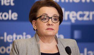 Maturzystka pisze do minister Zalewskiej.