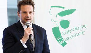 Rafał Trzaskowski o orzeczeniu SKO ws. K-Towers: powstanie plan zagospodarowania, sprawa się skończy