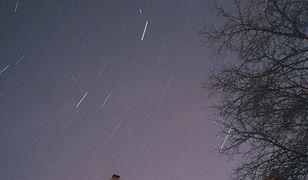 Prognoza pogody. Słoneczny lany poniedziałek, spadające gwiazdy w nocy