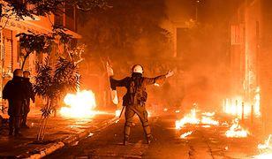 Starcia w Grecji
