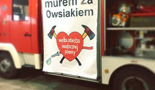 Strażacy z OSP jadą wesprzeć WOŚP i Jurka Owsiaka
