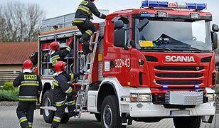 Pożar w Radzyniu. Nie żyje 64-latek