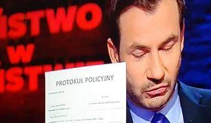 Wpadka w programie Polsatu. Polska Policja wyśmiała ten błąd