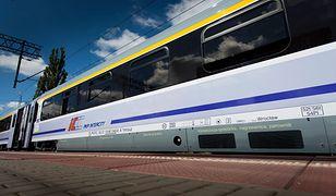 Paraliż na kolei. Pociąg PKP Intercity