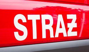 Potężny pożar we Wrocławiu. Płonie hala magazynowa