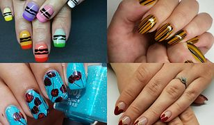 32e69cc2ea Nieskomplikowane wzory na paznokcie możemy spróbować stworzyć samodzielnie  (fot. jenniferdoesnails
