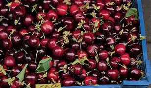 Ceny owoców wyjątkowo wysokie. Będzie mniej czereśni