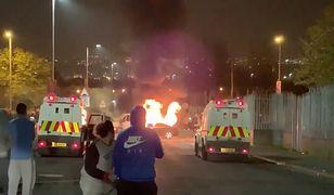 Irlandia Północna: zamieszki w Londonderry. Zastrzelono 29-letnią dziennikarkę