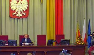 Radni PiS nie przyszli uczcić Adamowicza.