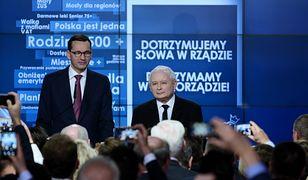 Konwencja PiS. Kaczyński z Morawieckim podsumowują rządy