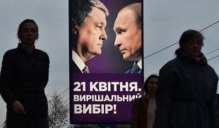 Kreml wspiera Zełenskiego? Wyborcza bomba odpalona tuż przed wyborami