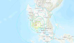 Trzęsienie ziemi na Filipinach. Pięć osób nie żyje. Nie ma zagrożenia tsunami
