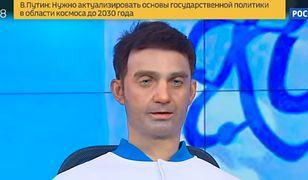 Rosyjski robot-prezenter, który wygląda jak pijak. Czy to kolejna fałszywka?