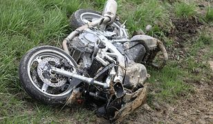 Tragiczny pościg za 23-latkiem. Radiowóz miał przejechać motocyklistę