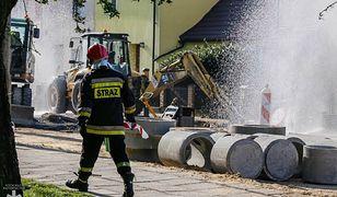 Głogów: Uszkodzono gazociąg. Ewakuacja mieszkańców